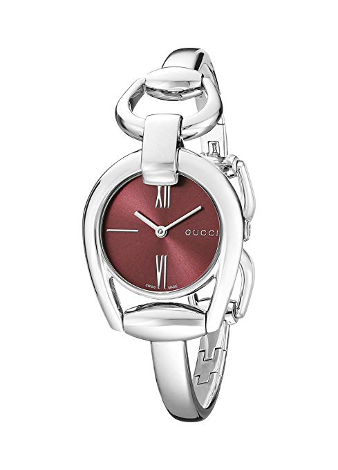 Gucci YA139502 Horsebit Collection Silver-Tone Watch