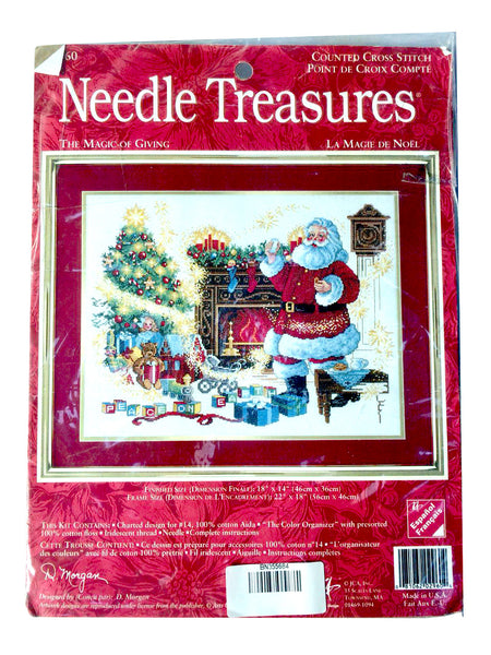 Needle Treasures The Magic of Giving Cross Stitch