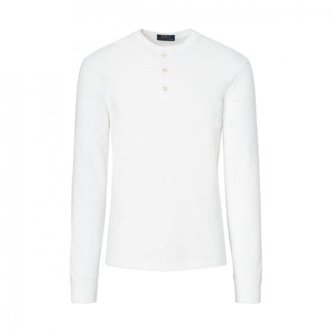 Ralph Lauren Custom Fit Cotton Henley, M