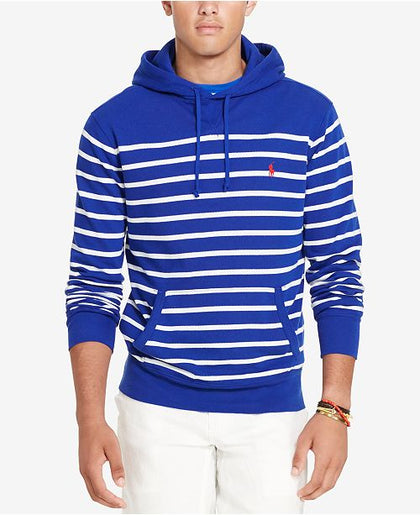 Polo Ralph Lauren Men's Striped French Terry Hoodie, XL
