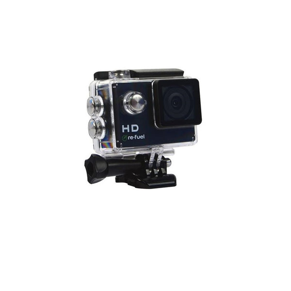 Re-fuel by Digipower Action Camera, Black