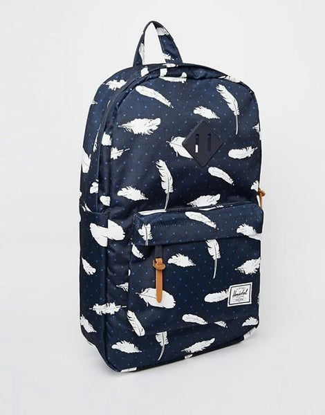 Herschel Supply Co Heritage Backpack in Feather Print