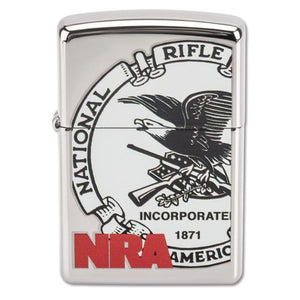 Zippo Lighter National Riffle Association