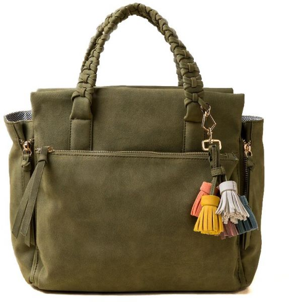 Violet Ray Bag For Women,Olive - Satchels Bag