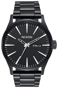 Nixon Sentry SS A356001-00 Stainless Steel Band Watch
