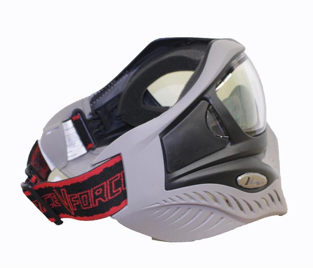 V-Force Grill Paintball Mask - White (Ghost)