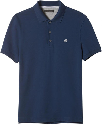 Banana Republic Slim Signature Pique Polo, Medium
