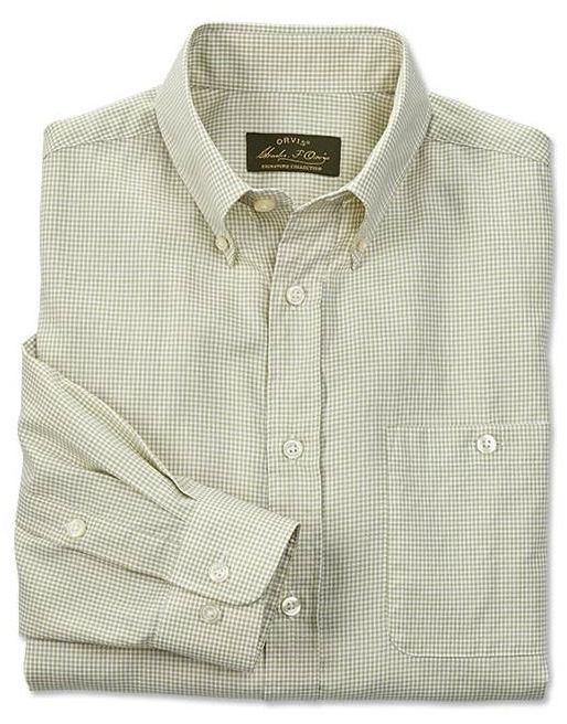 Orvis Royal Oxford Long-Sleeve Shirt, XL