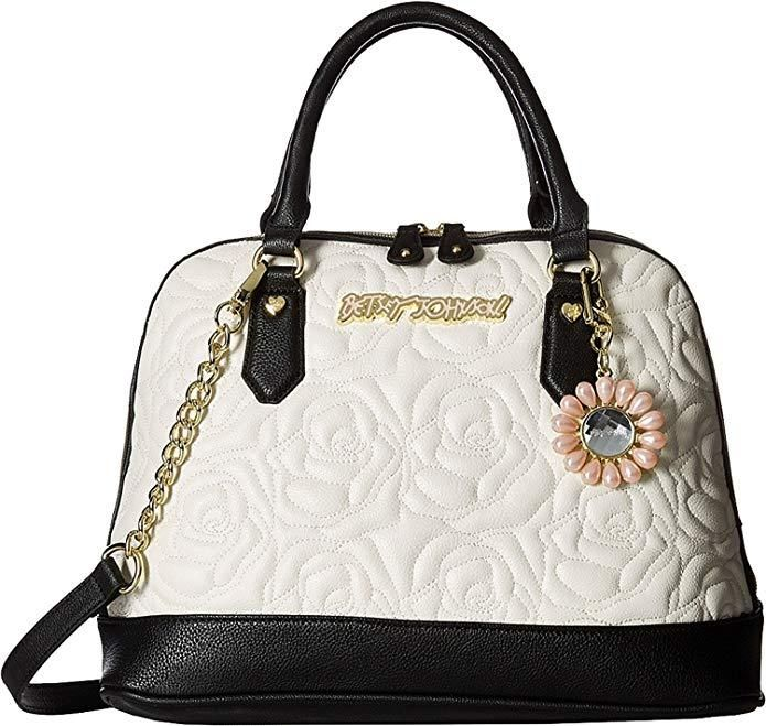 Betsey Johnson Bag For Women,Cream - Satchels Bag