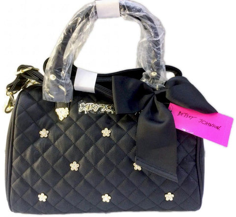 Betsey Johnsons Bag For Women,Black - Satchels Bags