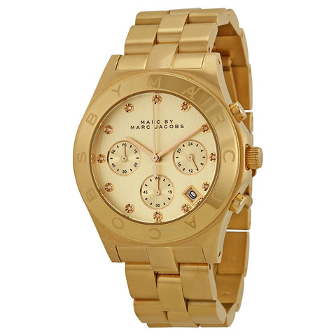 Marc by Marc Jacobs MBM3101 Gold-Tone Stainless Steel Watch