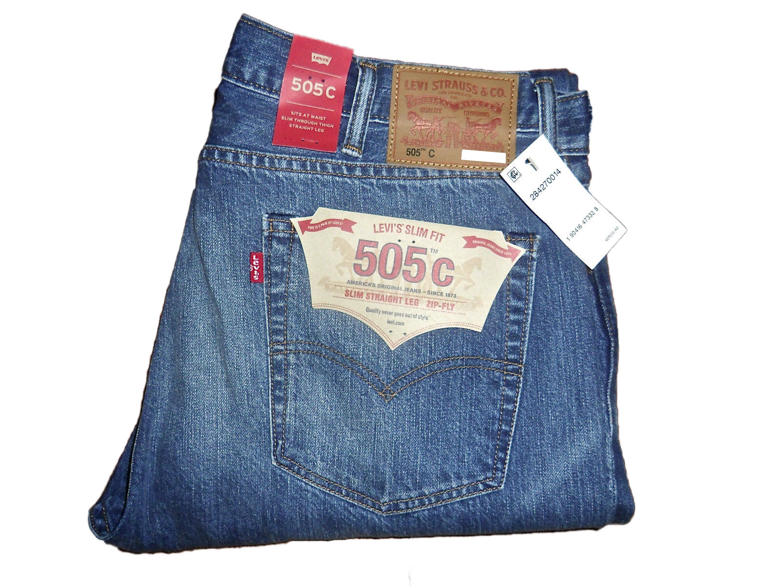 Levi's 505C Slim Straight Leg Zip-Fly, 28x30