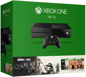 Xbox One 1TB Console - Tom Clancy's Rainbow Six Siege Bundle