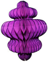 10 Inch Honeycomb Chandelier Decoration - 3-Pack - MULTIPLE COLORS