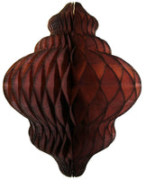 11 Inch Honeycomb Lantern Decoration - 6-Pack - MULTIPLE COLORS