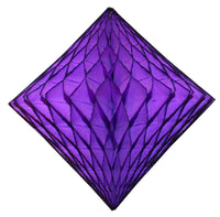 2-Pack 18 Inch Honeycomb Diamond Decorations - Solid Colors