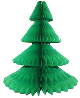 12 Inch Honeycomb Christmas Tree - Solid Colors (single tree)