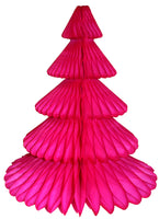 17 Inch Honeycomb Christmas Tree - Solid Colors (single tree)