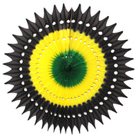 3-Pack 21 Inch Jamaican Fan Decoration