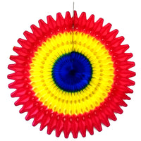 3-Pack 21 Inch Back to School Themed Tissue Fan