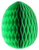 3-Pack 9 Inch Honeycomb Easter Egg Decoration - MULTIPLE COLORS