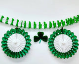 13 Inch Honeycomb Shamrock - MULTIPLE PACK OPTIONS