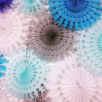 26 Inch Extra-Large Tissue Paper Snowflake Decorations (3-pack)