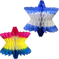 9 Inch Honeycomb Star of David Decoration - MULTIPLE OPTIONS