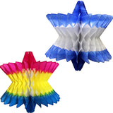 14 Inch Honeycomb Star of David Decoration - MULTIPLE OPTIONS