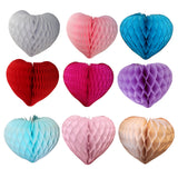 18 Inch Honeycomb Heart (1 Piece) - MULTIPLE COLORS
