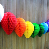 3-Pack 11 Inch Honeycomb Paper Balloon - MULTIPLE COLORS