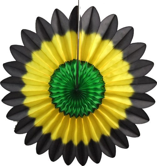 3-Pack 27 Inch Jamaican Fanburst Decoration