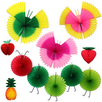 11-Piece Deluxe Spring Honeycomb Decoration Set