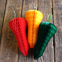 15 Inch Honeycomb Chili Peppers (3-Pack)