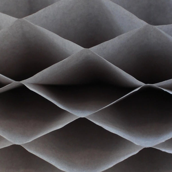 Honeycomb Craft Paper - Gray