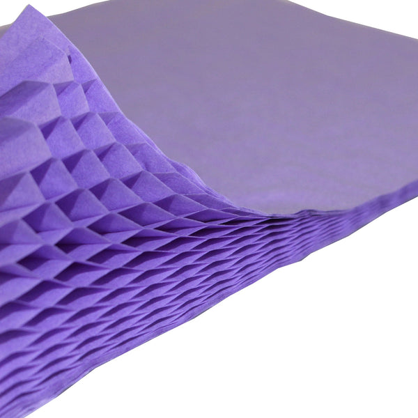 Honeycomb Craft Paper - Lavender