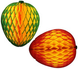 14 Inch Honeycomb Mango Decoration (3-Pack)
