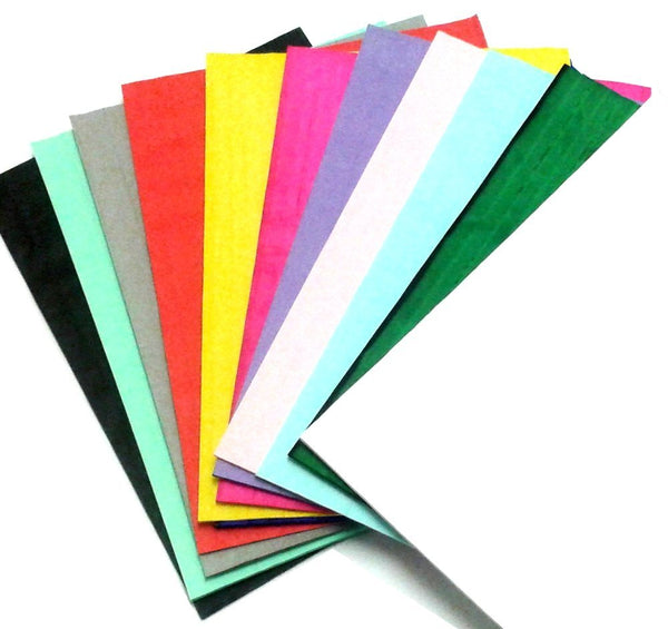 "12-Piece Assorted Honeycomb Craft Pads (Small 1/2"" Glue Line)"