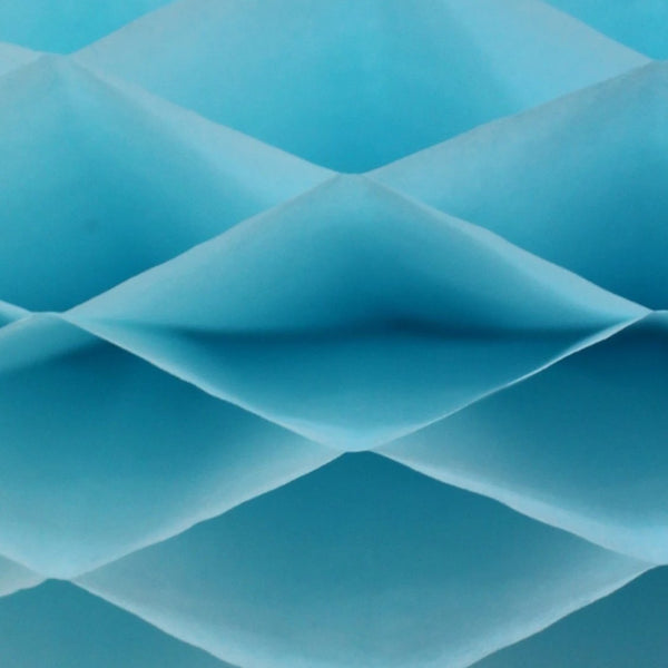Honeycomb Craft Paper - Light Blue