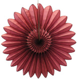 18 Inch Tissue Fanbursts - 6-pack - MULTIPLE COLOR OPTIONS