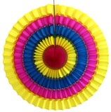 16 Inch Striped Tissue Fans - 3-pack - MULTIPLE COLOR OPTIONS