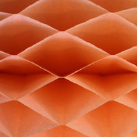 Honeycomb Craft Paper - Peach