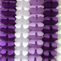 6-Piece Party Garlands, 12 Foot (Purple, Lavender, White)