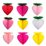 10 Inch Strawberry Decorations (3-pack)