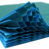 Honeycomb Craft Paper - Teal & Turquoise (Two-Tone)