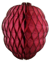 13 Inch Honeycomb Raspberry or Blackberry Decoration (3-pack)
