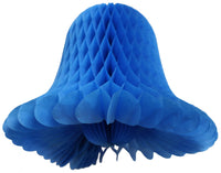 15 Inch Large Tissue Bell Decoration - 3-Pack - MULTIPLE COLORS