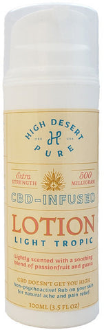 High Desert Pure 500mg Lotion