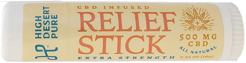 High Desert Pure Relief Stick 500mg