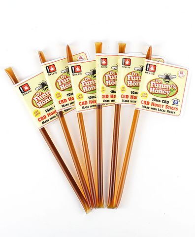 DR Funnys Honey Sticks 10mg